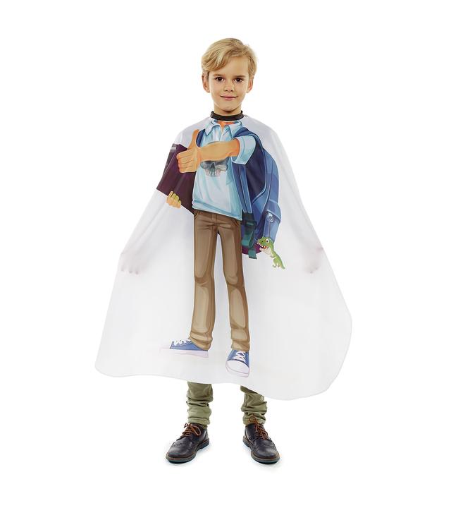 Dětská kadeřnická pláštěnka Sibel - Skaterboy (5091405) + DÁREK ZDARMA