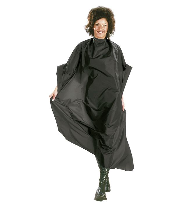Kadeřnická pláštěnka na barvení vlasů Mystery Sibel - černá (529052202)