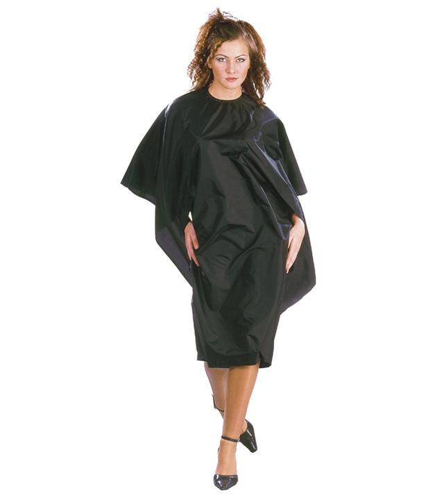 Kadeřnická pláštěnka na barvení vlasů History Sibel - černá (531953202) + DÁREK ZDARMA