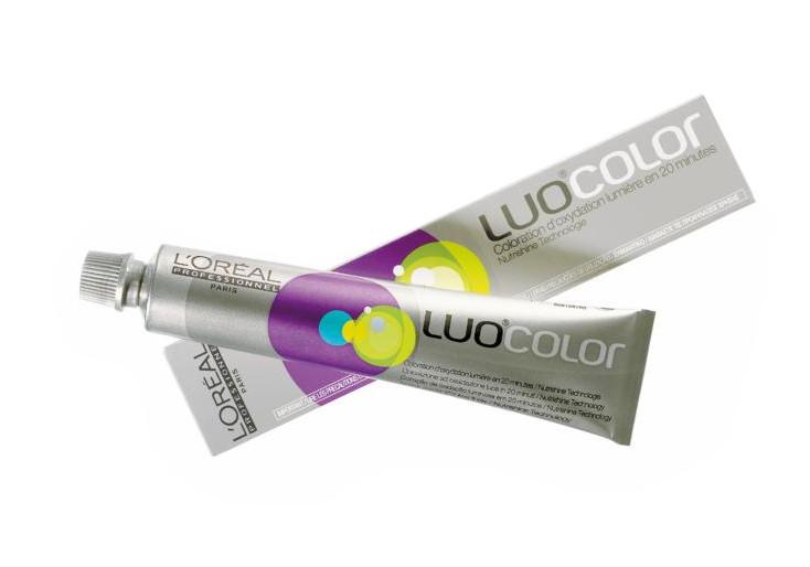 Loréal LUOCOLOR barva na vlasy 50 g - odstín 2.10, popelavá