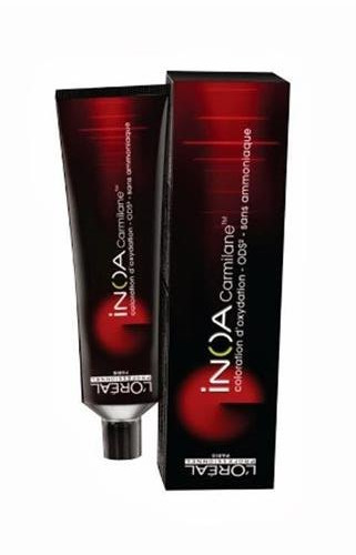 Barva na vlasy Loréal Inoa 2 Carmilane 60 g - odstín C 6.66 - L'Oréal Professionnel + DÁREK ZDARMA