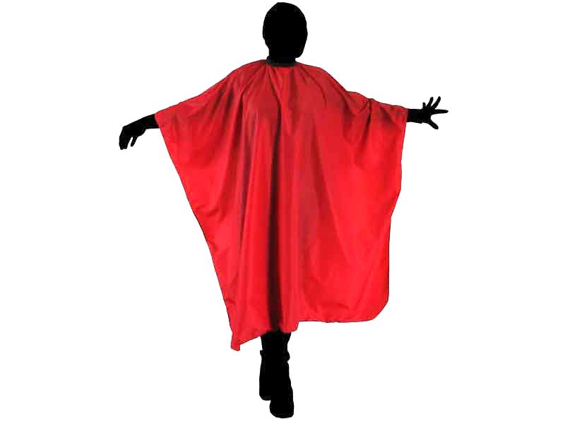 Kadeřnická pláštěnka na stříhání Duko 599 - červená 44c21c8286c