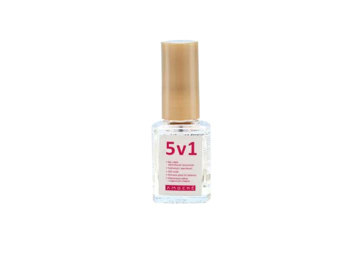 5v1 průhledný lak na nehty Amoené - 12 ml (011100B5V1)