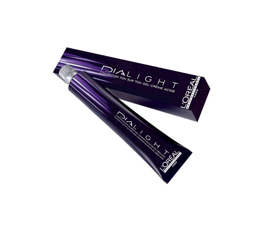 Loréal Dialight Přeliv na vlasy 50ml - odstín 5.54 hnědá