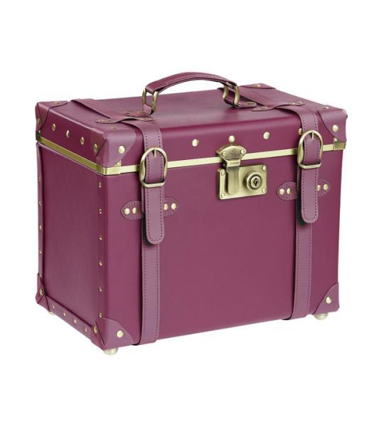 Kadeřnický - kosmetický kufřík Sibel Vintage Julia (6600514) + DÁREK ZDARMA