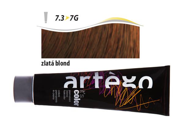 Artégo Krémová barva IT'S Color 150 ml - 7.3, zlatá blond (7.3>7G)