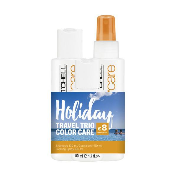 Sada pro barvené vlasy Holiday Travel Trio Color Care Paul Mitchell (703071) + DÁREK ZDARMA