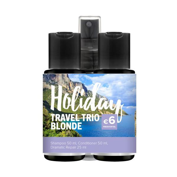 Sada pro blond vlasy Holiday Travel Trio Blonde Paul Mitchell (703068) + DÁREK ZDARMA