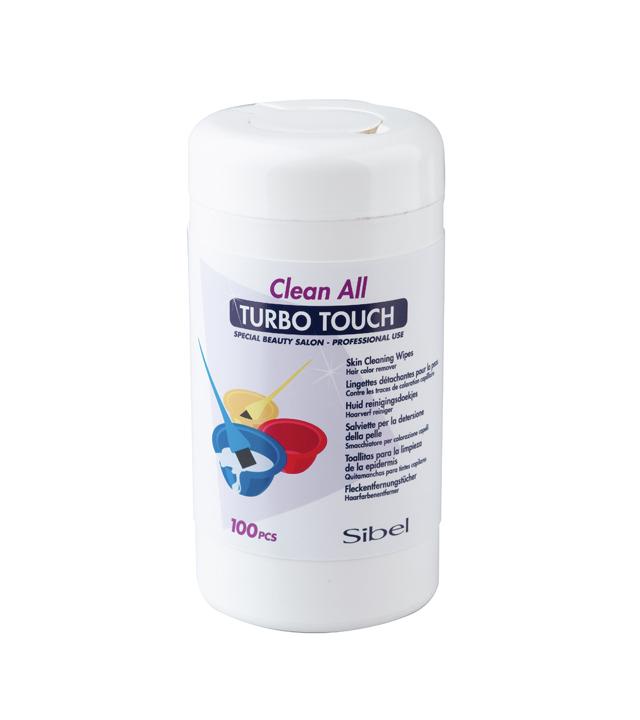 Čistící ubrousky pro odstranění barvy z pokožky Sibel Clean All , 100 ks (7038000)