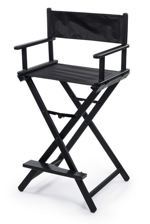 Skládací židle Sibel Nathalie - černá (7300753) + DÁREK ZDARMA