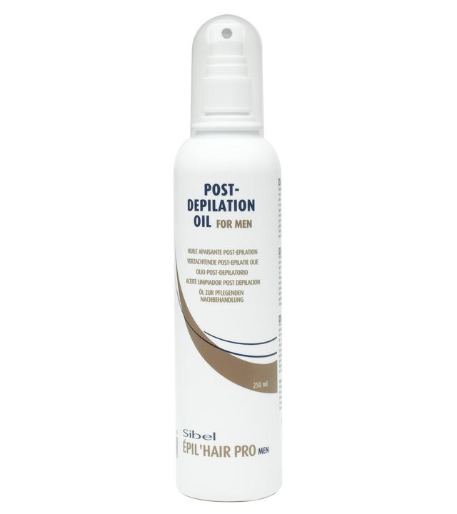 Olej pro odstranění vosku po depilaci Sibel pro muže, 250 mm (7410240)
