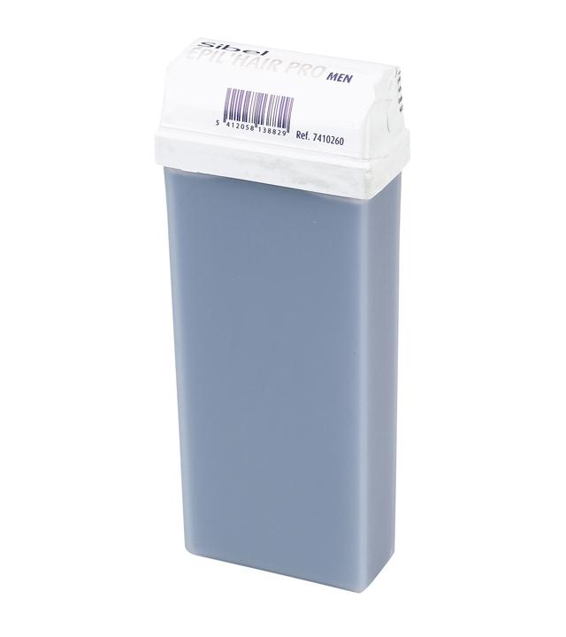 Depilační vosk roll-on pro může Sibel - modrý, 100 ml (7410260)