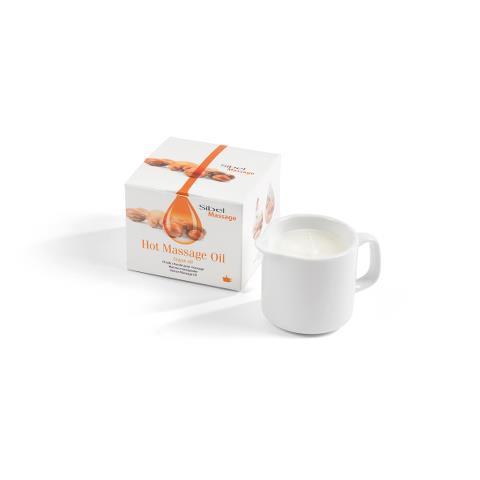 Horký masážní olej Sibel Massage - argan 80 g (7410709)