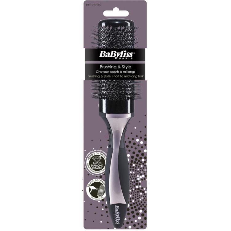 Foukací kulatý kartáč na vlasy BaByliss, nylonové štětiny, 44 mm (791982)