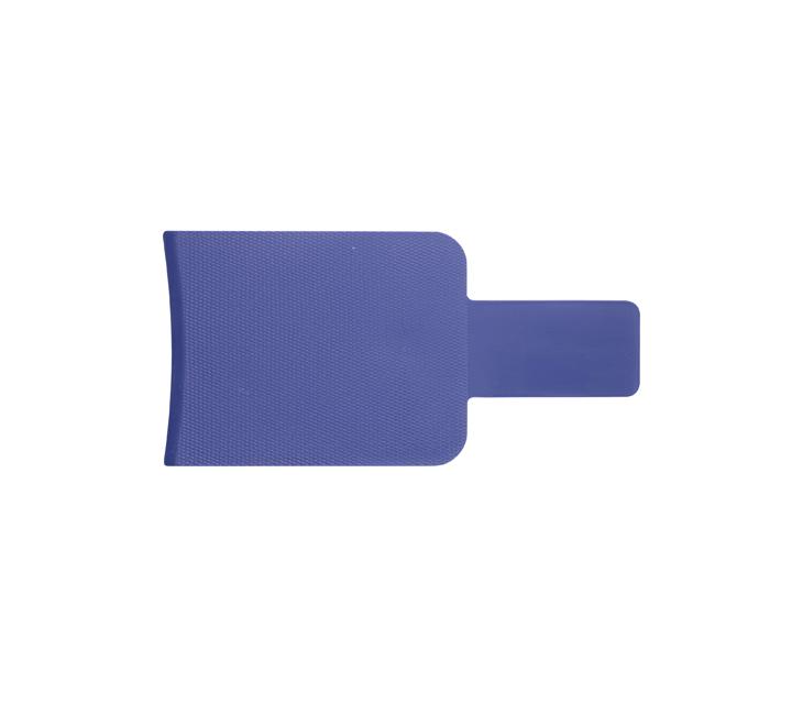 Kadeřnická lopatka/podložka na melír Sibel 105 x 210 - modrá (841870104)