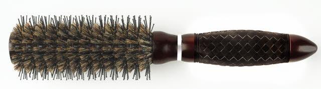 Kulatý kartáč na vlasy Sibel Glossy Hair - pr. 53 mm (8436272)