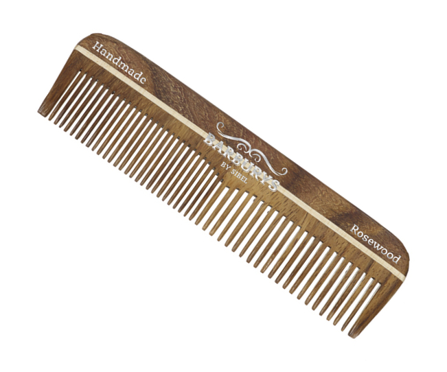 Hřeben z palisandrového dřeva Sibel Barburys Rosewood Mustache - Mini (8482208)
