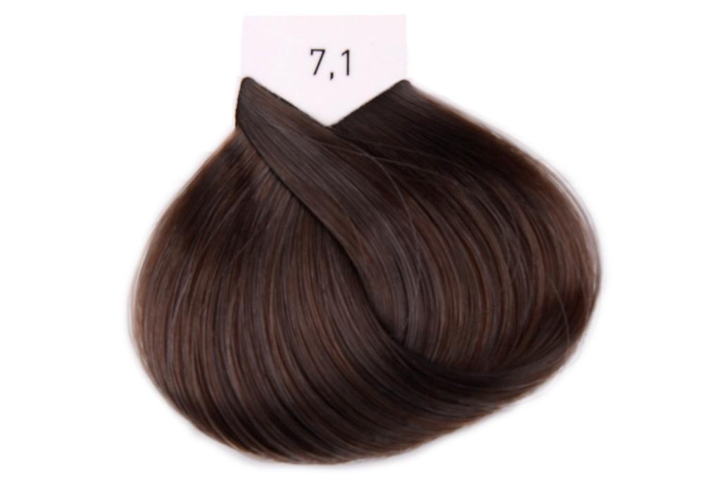Barva na vlasy Loréal Majirel 50 ml - odstín 7.1 popelavá blond + DÁREK ZDARMA