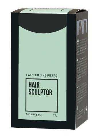 Pudr pro zakrytí řídnoucích vlasů Sibel Hair Building Fibers - černá, 25 g (8980510) + DÁREK ZDARMA