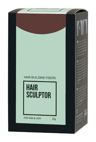 Pudr pro zakrytí řídnoucích vlasů Sibel Hair Building Fibers - hnědá, 25 g (8980512) + DÁREK ZDARMA