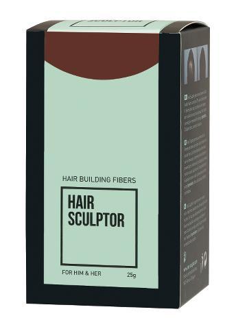 Pudr pro zakrytí řídnoucích vlasů Sibel Hair Building Fibers - tmavě hnědá, 25 g (8980511) + DÁREK ZDARMA