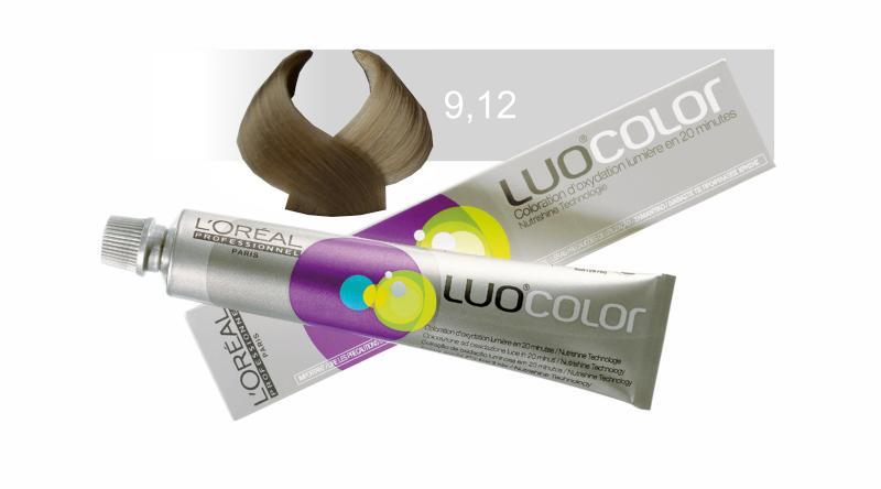 Loréal LUOCOLOR barva na vlasy 50 g - odstín 9.12, béžová