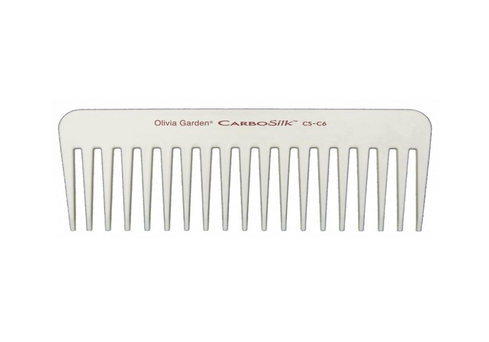 Karbonový hřeben na vlasy CS-C6, Olivia Garden (CSC6)