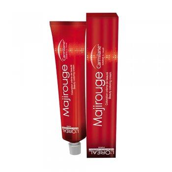 Barva na vlasy Loréal Majirouge 50 ml - odstín C6.66 červený sytý