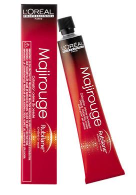 Barva na vlasy Loréal Majirouge 50 ml - odstín 6.40 měděná tmavá blond