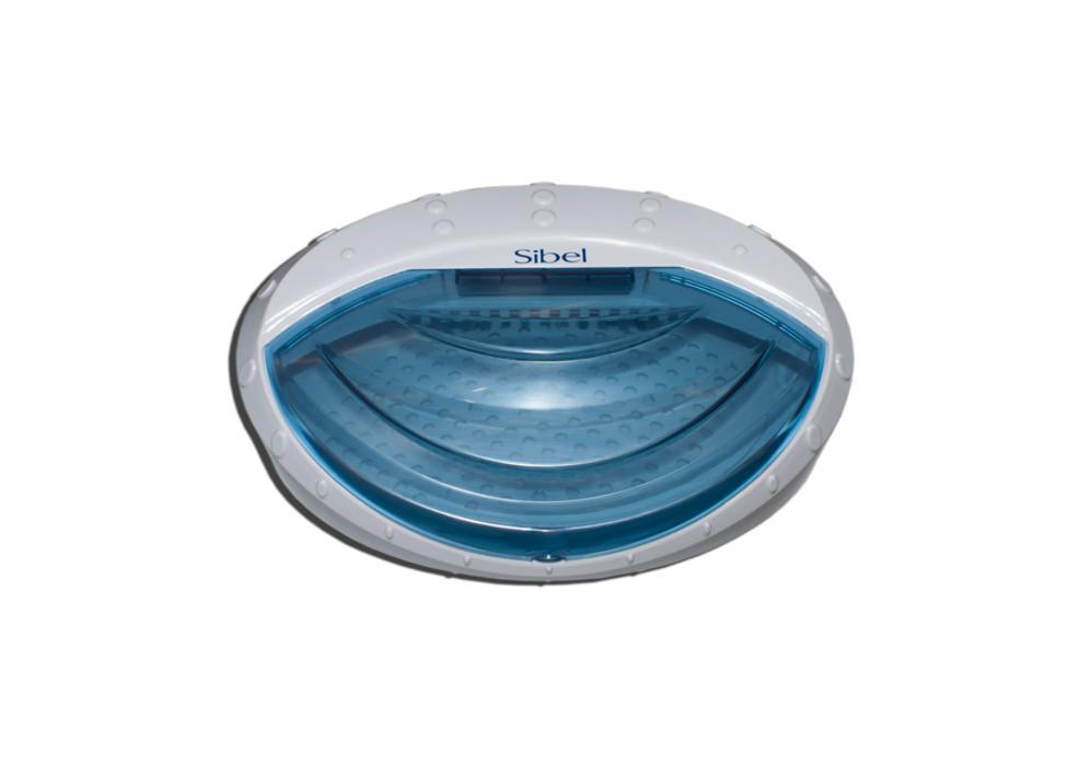 Ultrazvukový sterilizátor nástrojů Sibel, bílo-modrý (5010505) + DÁREK ZDARMA