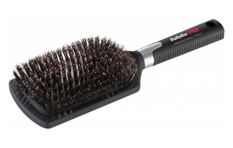Kartáč na vlasy BaByliss Pro s kančími štětinami (BABBB1E) + DÁREK ZDARMA