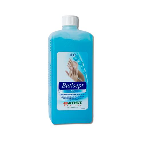 Batisept Gel antibakteriální gel na ruce - 1 l (1325100119) - Batist + DÁREK ZDARMA