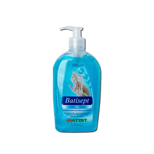 Batisept Gel antibakteriální gel na ruce - 500 ml (1325100118) - Batist + DÁREK ZDARMA