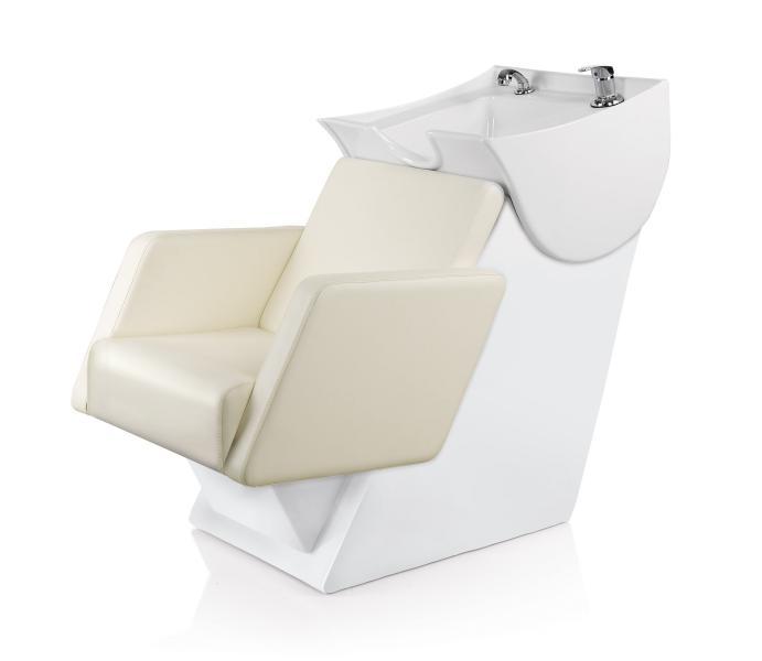 Kadeřnický mycí box Detail Comfort - smetanový - II. jakost - špatný šev, vadná koženka (DHS6628-II.jakost) + DÁREK ZDARMA