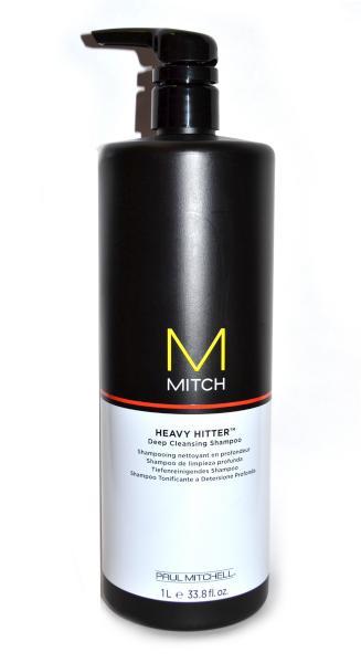 Čistící šampon Paul Mitchell Mitch Heavy Hitter - 1000 ml (330124) + DÁREK ZDARMA