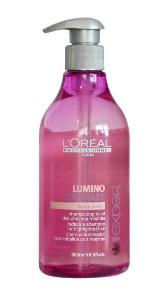 Šampon Lumino Contrast pro výživu melírovaných vlasů - 500 ml - Loréal Professionnel + DÁREK ZDARMA