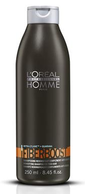 Loréal Šampon Homme Fiberboost pro hustotu vlasů - 250 ml + DÁREK ZDARMA