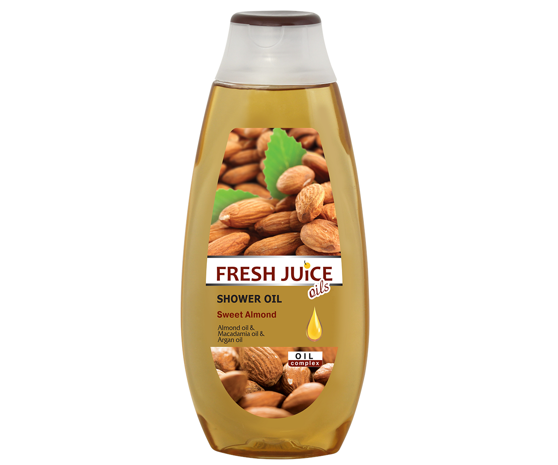 Sprchový olej Fresh Juice - Sladká mandle 400 ml