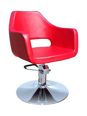 Kadeřnické designové křeslo Hairway NEO - červené (56056-YD30) + DÁREK ZDARMA