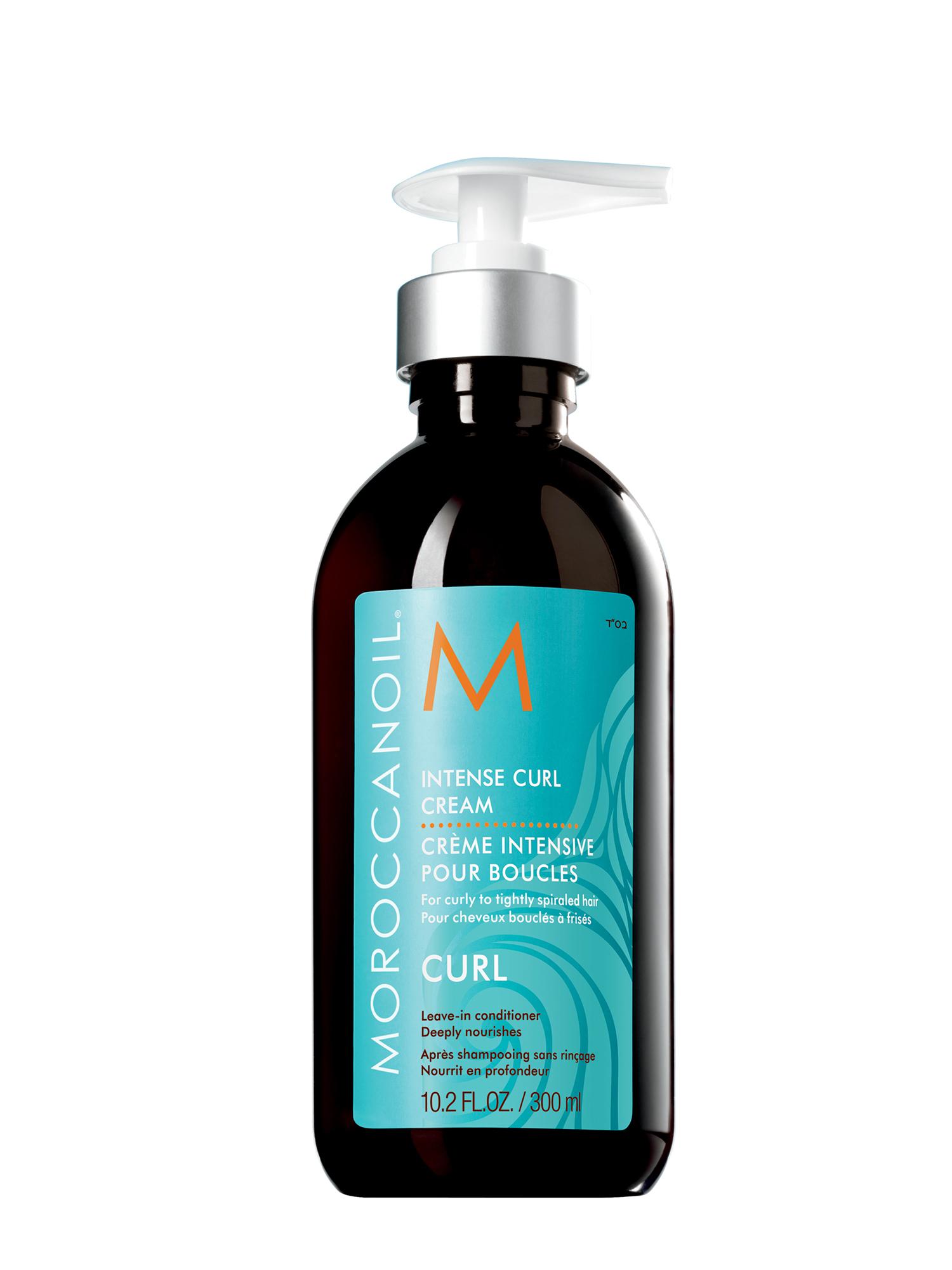 Bezoplachová péče pro vlnité vlasy Moroccanoil Intense Curl - 300 ml (INTCC300ML, ICC300) + DÁREK ZDARMA