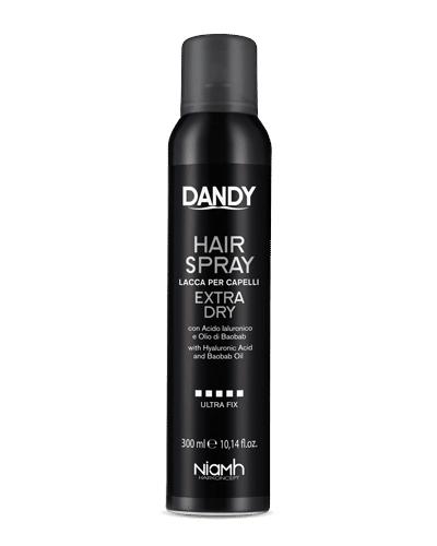 Lak na vlasy s maximální fixací Dandy Extra Dry - 300 ml (1396) + DÁREK ZDARMA