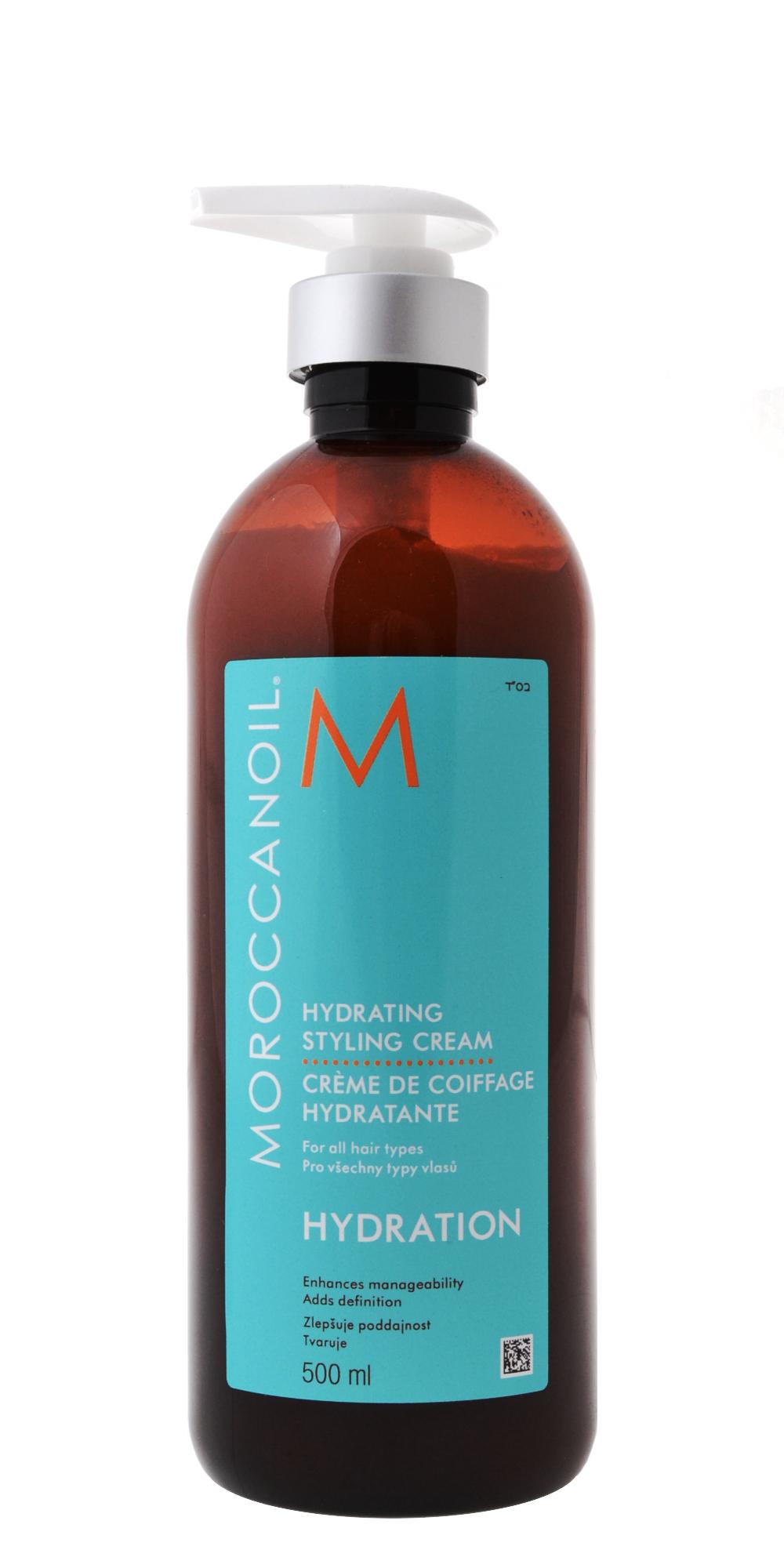 Lehký stylingový krém Moroccanoil Hydration - 500 ml (HSC500) + DÁREK ZDARMA
