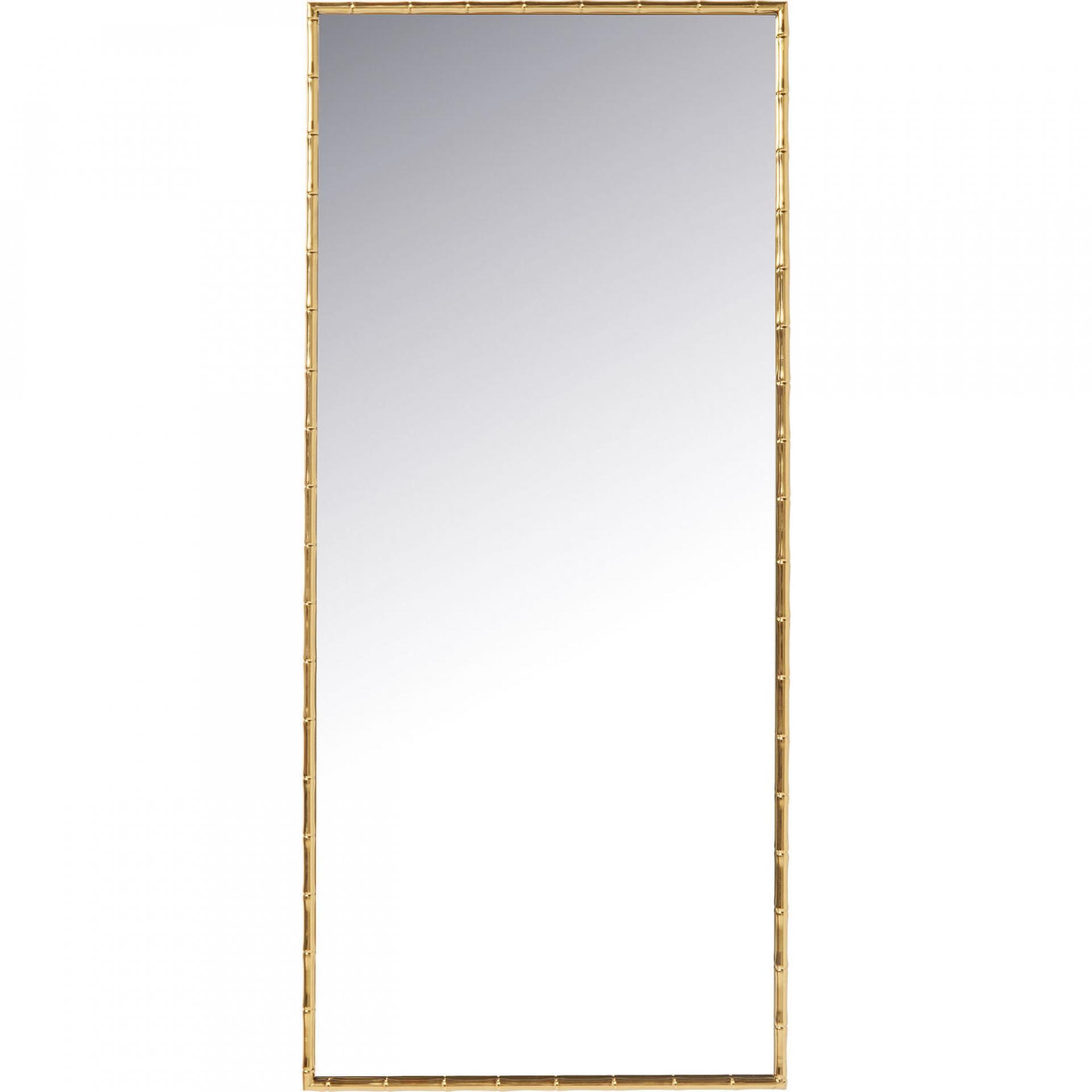 Kadeřnické zrcadlo Kare Hipster Bamboo - 180 x 80 cm (83808) + DÁREK ZDARMA