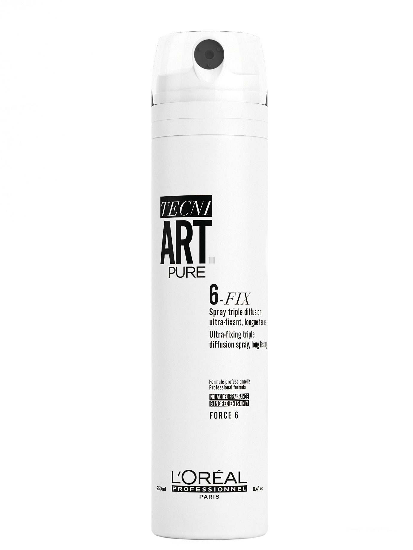 Lak na vlasy s maximální fixací Loréal Tecni. Art 6-Fix - 250 ml - L'Oréal Professionnel + DÁREK ZDA