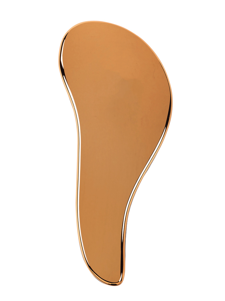 Kartáč na vlasy Sibel D-méli-mélo Metal Glam - měděný (660060803) + DÁREK ZDARMA