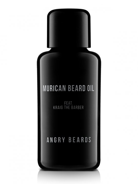 Olej na vousy a pleť Angry Beards Murican Beard Oil feat. Kraig The Barber - 1 fl oz (MURICAN-OLEJ)