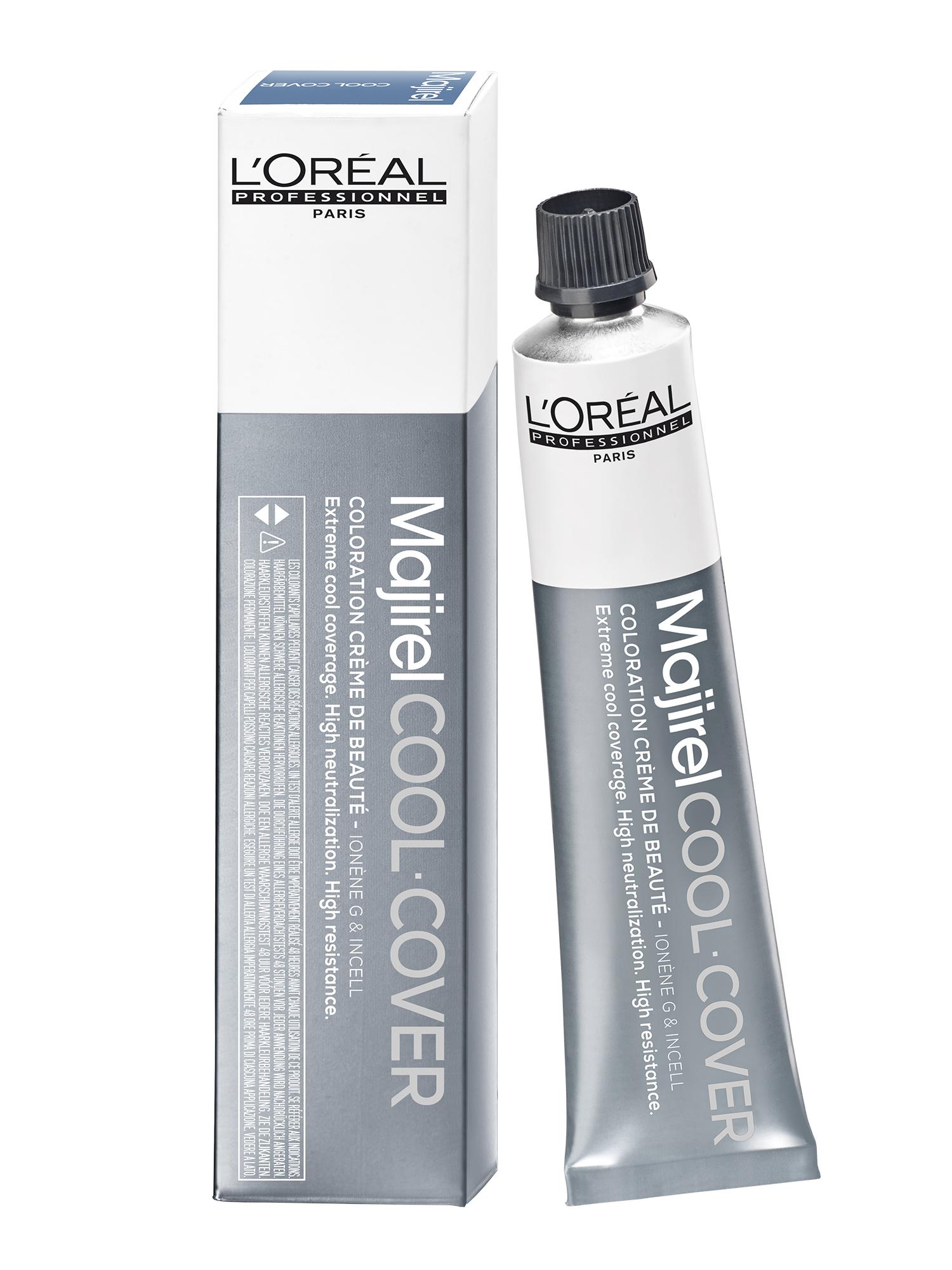 Barva na vlasy Loréal Majirel Cool Cover 50 ml - odstín 9 velmi světlá blond + DÁREK ZDARMA