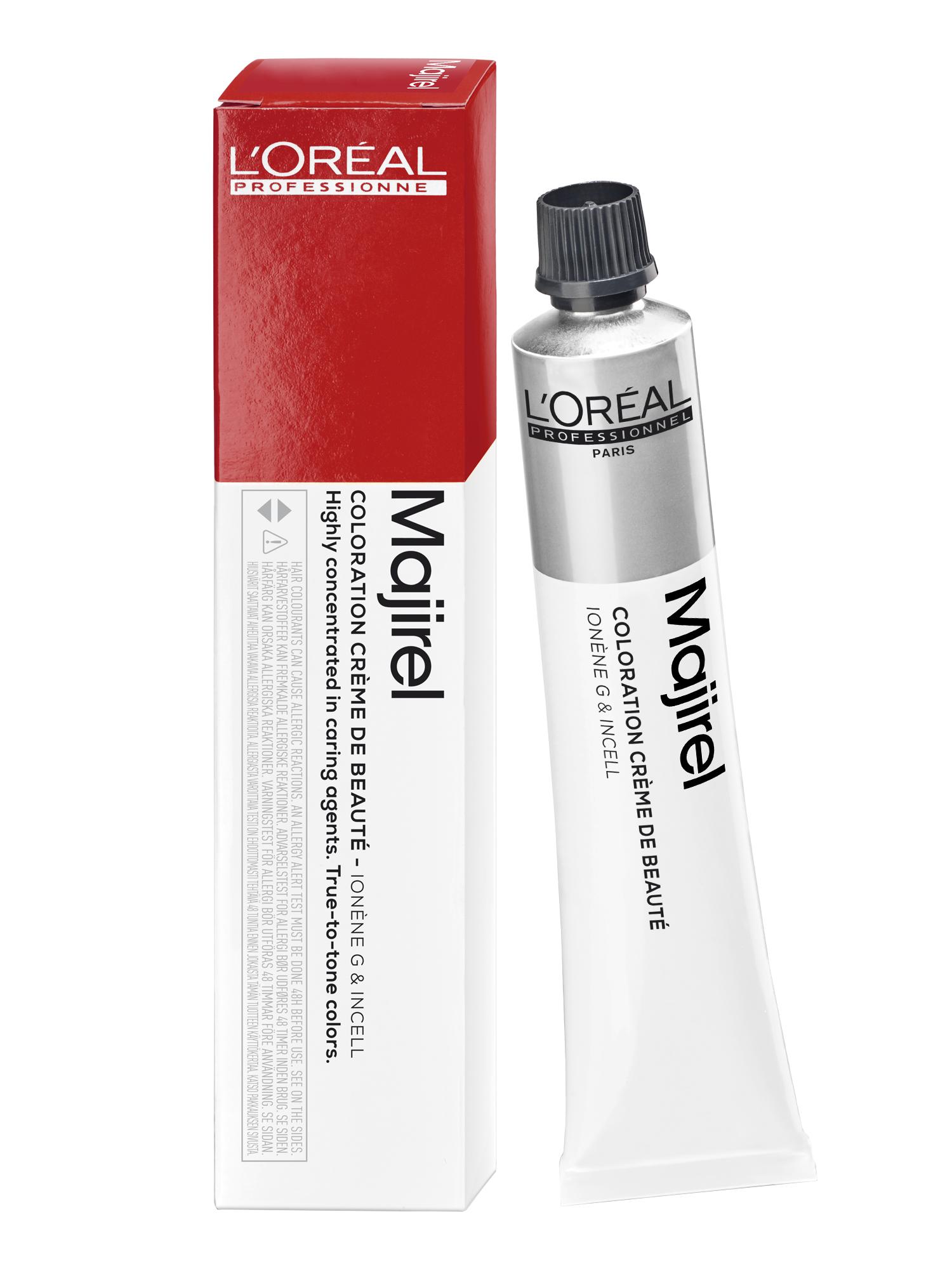Barva na vlasy Loréal Majirouge 50 ml - odstín 6.60 intenzivní červený - L'Oréal Professionnel + DÁREK ZDARMA