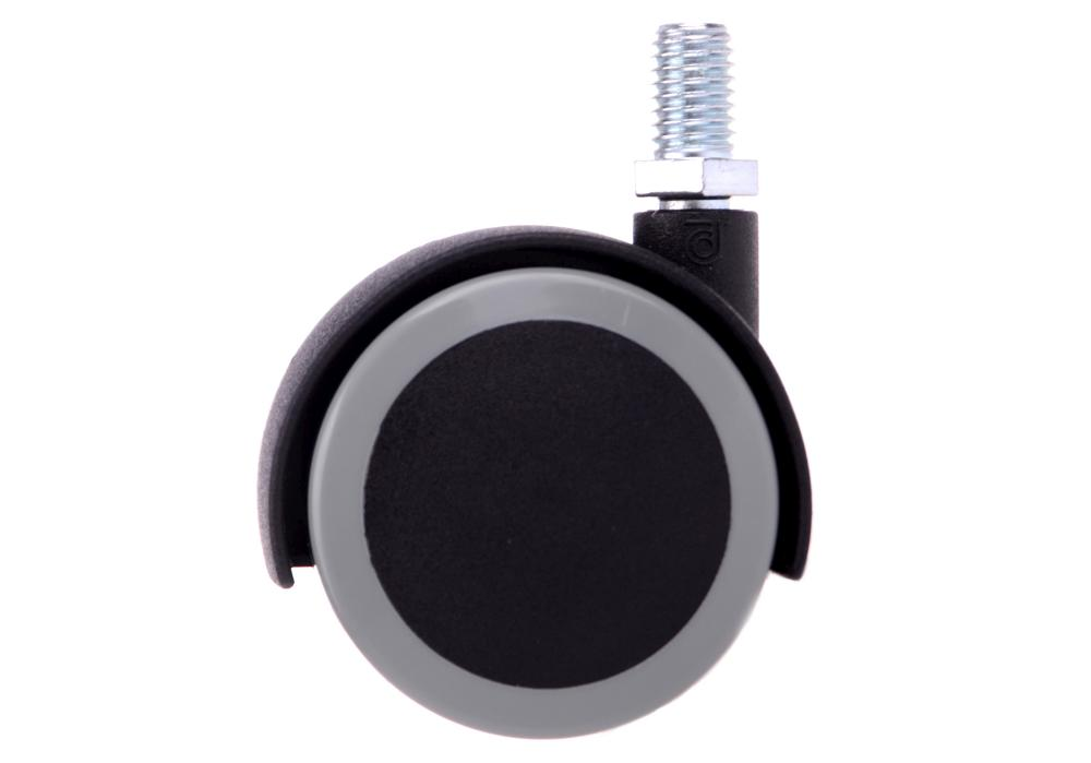 Náhradní kolečko k taburetům a stolkům Weelko - černé/šedé (30008-1)
