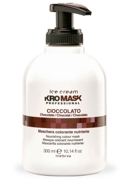 Výživná barvicí maska Inebrya KroMask Cioccolato - 300 ml (776563) + DÁREK ZDARMA